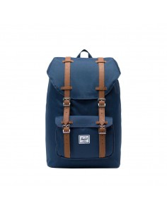 Herschel Little America Mid Volume Navy/Tan (Bleu)