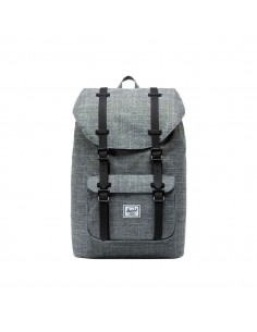 Herschel Little America Mid Volume Raven Crosshatch