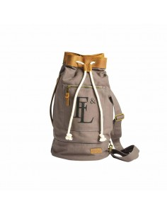 Forbes & Lewis Arnold Duffle Grey Brown