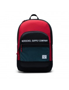 Herschel Kaine Black Red Bachelor Button