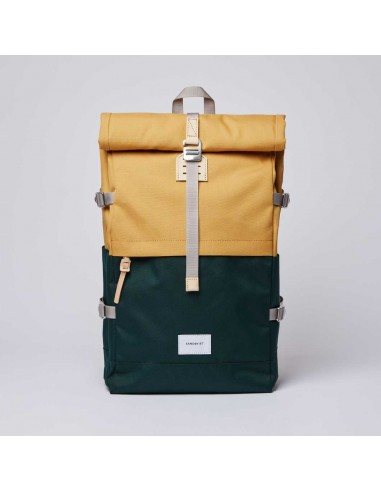 Sandqvist Bernt Multi Honey Yellow/Dark Green