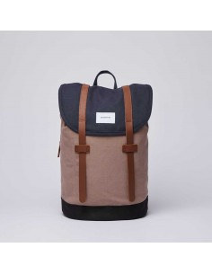 Sandqvist Stig Multi Navy Earth Brown Black