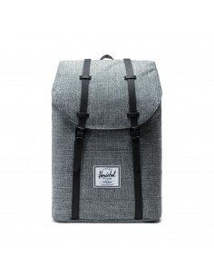 Herschel Retreat Raven Crosshatch