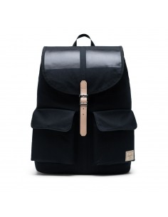 Herschel Dawson Large Premium Cotton Black
