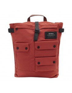 Ecoalf Multipocket Backpack Burned Orange