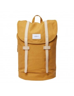 Sandqvist Stig Honey Yellow Natural Leather