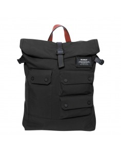 Ecoalf Multipocket Backpack Black