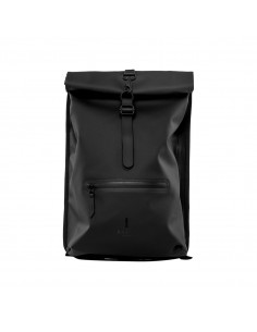 Rains Rolltop Rucksack Black (Noir) - Reconditionné