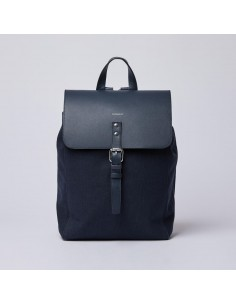 Sandqvist Alva Navy Navy Leather