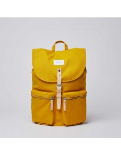 Sandqvist Roald Yellow Natural Leather
