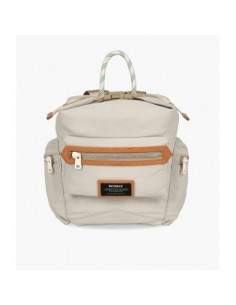 Ecoalf Small Buggy Flat Pocket Backpack Linen
