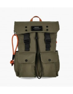 Ecoalf Zermat Backpack Army Green