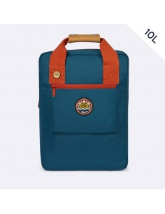 Faguo Urban Bag Polyester Bleu & Orange