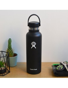 HydroFlask Standard Mouth With Standard Flex Cap Noir 21oz (621mL)