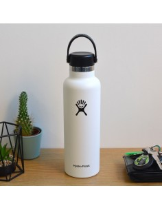 HydroFlask Standard Mouth With Standard Flex Cap Blanc 21oz (621mL)