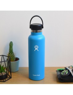 HydroFlask Standard Mouth With Standard Flex Cap Bleu 21oz (621mL)