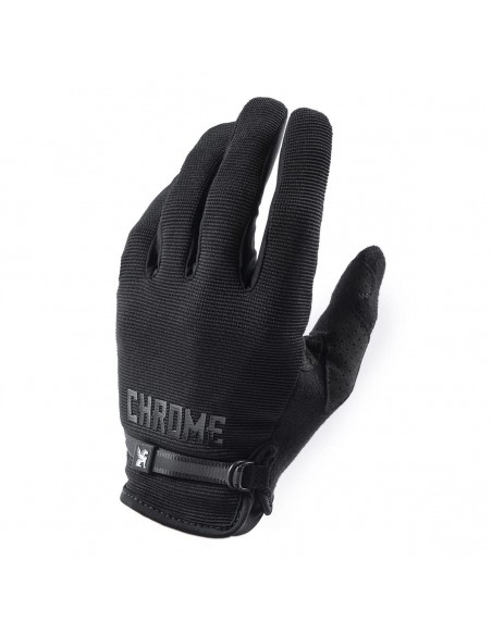 Chrome Cycling Gloves Black