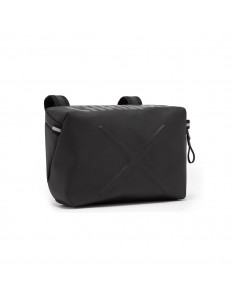 Chrome Helix Handlebar Bag Black