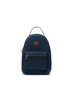 Herschel Nova Small Indigo Denim Crosshatch