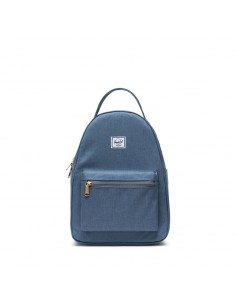 Herschel Nova Small Blue Mirage Crosshatch