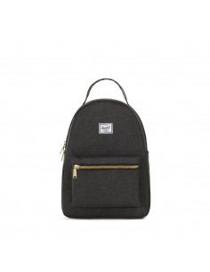 Herschel Nova Small Black Crosshatch