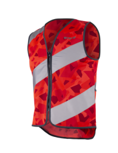 Gilet Fluo Rouge Réfléchissant Wowow Urban Rysy Jacket