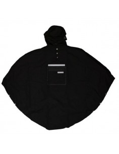 Poncho de vélo Hardy Black 3.0 - The Peoples Poncho