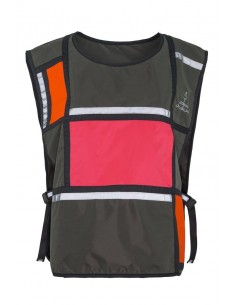 Gilet Visibilité D1 Bell Georgia in Dublin Green Orange Pink