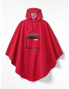 Poncho de vélo Hardy Red 3.0 - The Peoples Poncho