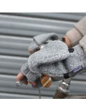 Patagonia Better Sweater Gloves - Birch White (Gris)