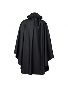 Poncho vélo Rains Cape Black