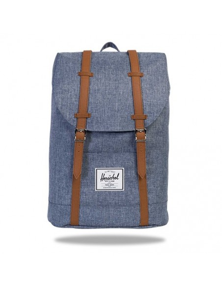 Sac à dos Herschel Retreat Dark Chambray Crosshatch