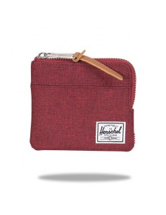 Portefeuille Herschel Johnny bordeaux chiné