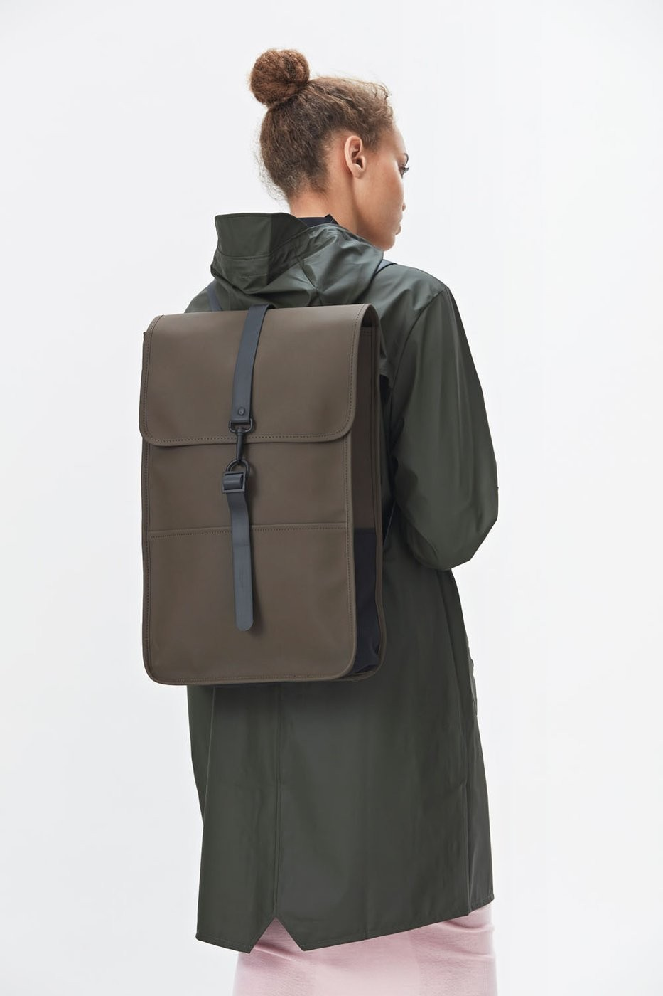 sac dos rains backpack marron brown rains sac dos tendance. Black Bedroom Furniture Sets. Home Design Ideas