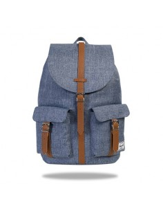 Herschel Dawson Dark Chambray Crosshatch