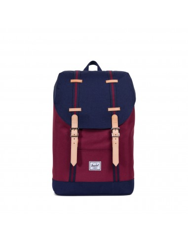 Sac à dos Herschel Heritage Offset Windsor Wine/Peacoat rouge Regawi0uKb