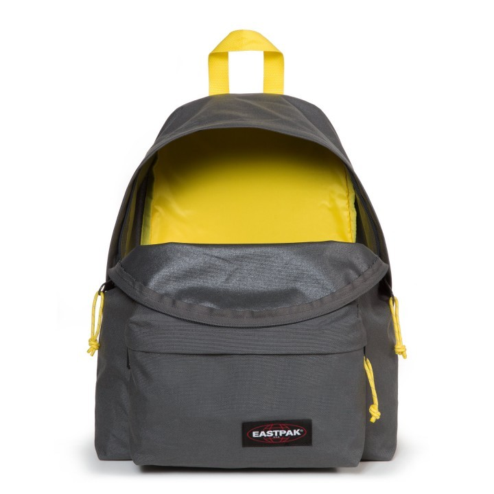 Padded Dos Pak'r À Grey Yellow Sac Eastpak q0dAwq
