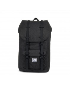 Herschel Little America Black Crosshatch/Black