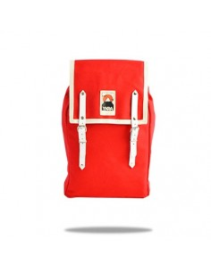 Ykra Matra Mini White Leather Rouge