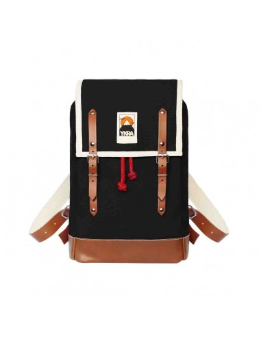 Ykra Matra Mini Leather Strap Noir