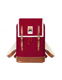 Ykra Matra Mini Leather Strap Bordeaux