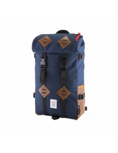 Topo Designs 22 L Klettersack Navy Leather