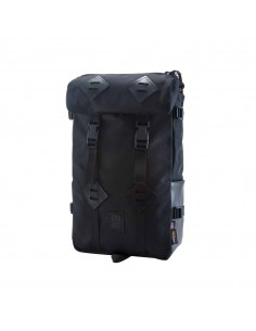 Topo Designs 22 L Klettersack Ballistic Black Leather