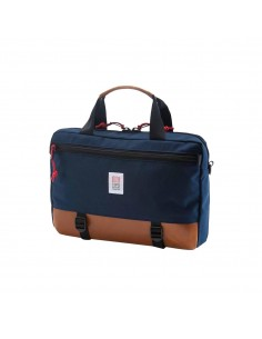 Topo Designs Commuter Briefcase Navy Leather