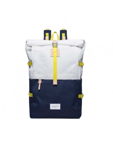 Sandqvist Bernt Multi Off White / Blue