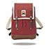 ykra marra mini leather strap bordeaux
